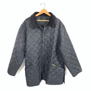 BARBOUR L/S Snap-Button Quilted Liddesdale Jacket